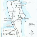 Siboya Tourist Map